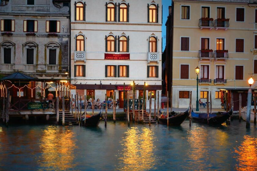 luxury hotel on grand canal